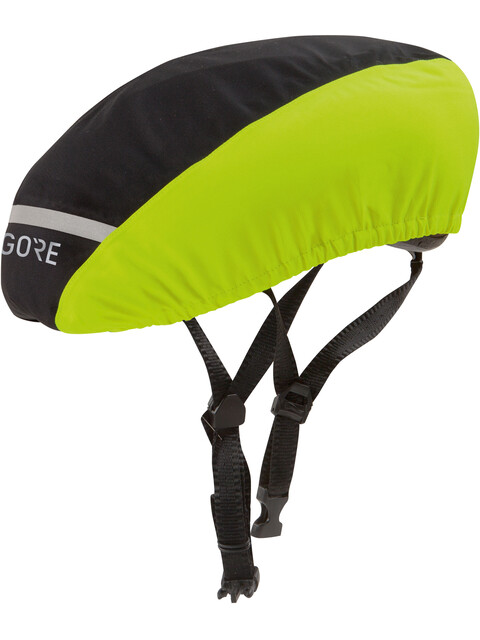 GORE WEAR C3 Gore-Tex Helmet Cover black/neon yellow